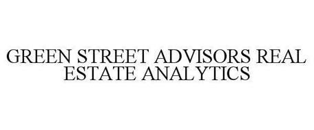 GREEN STREET ADVISORS REAL ESTATE ANALYTICS