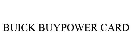 BUICK BUYPOWER CARD
