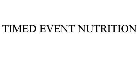 TIMED EVENT NUTRITION