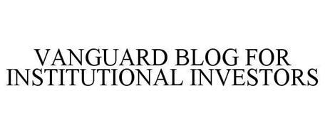 VANGUARD BLOG FOR INSTITUTIONAL INVESTORS