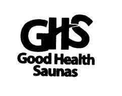 GHS GOOD HEALTH SAUNAS
