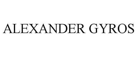 ALEXANDER GYROS