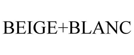 BEIGE+BLANC