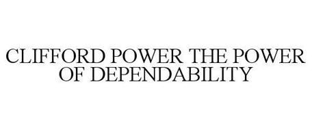 CLIFFORD POWER THE POWER OF DEPENDABILITY