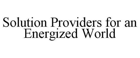 SOLUTION PROVIDERS FOR AN ENERGIZED WORLD