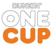 DUNKIN' ONE CUP