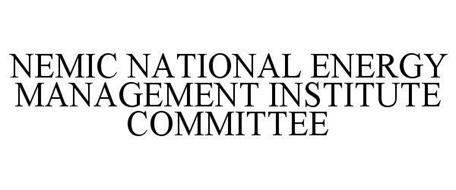 NEMIC NATIONAL ENERGY MANAGEMENT INSTITUTE COMMITTEE