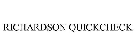 RICHARDSON QUICKCHECK