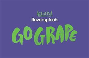 AQUAFINA FLAVORSPLASH GO GRAPE