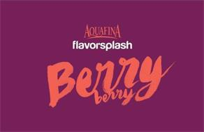 AQUAFINA FLAVORSPLASH BERRY BERRY