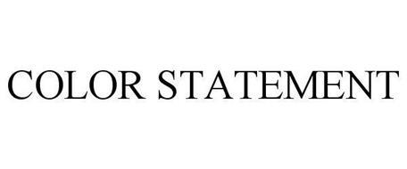 COLOR STATEMENT