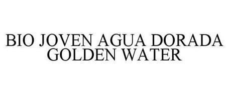 BIO JOVEN AGUA DORADA GOLDEN WATER
