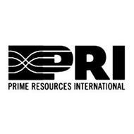 PRI PRIME RESOURCES INTERNATIONAL