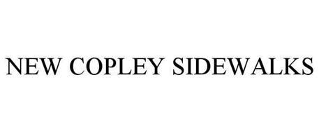 NEW COPLEY SIDEWALKS
