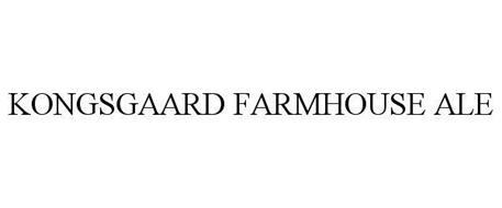 KONGSGAARD FARMHOUSE ALE
