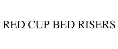 RED CUP BED RISERS