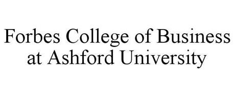 FORBES COLLEGE OF BUSINESS AT ASHFORD UNIVERSITY