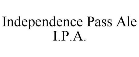 INDEPENDENCE PASS ALE