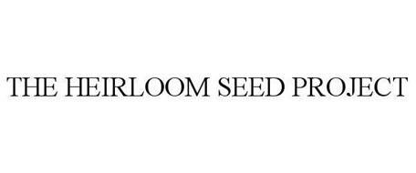 THE HEIRLOOM SEED PROJECT