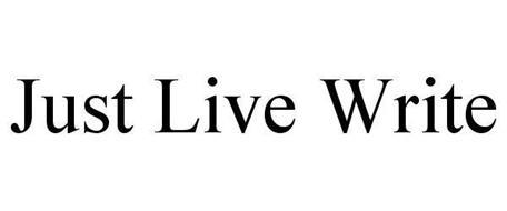 JUST LIVE WRITE