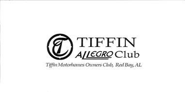 T TIFFIN ALLEGRO CLUB TIFFIN MOTORHOMES OWNERS CLUB, RED BAY, AL