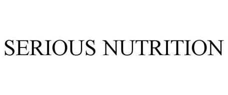 SERIOUS NUTRITION