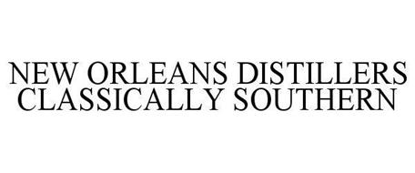 NEW ORLEANS DISTILLERS CLASSICALLY SOUTHERN