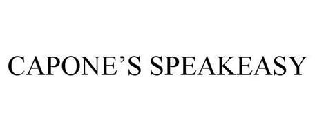 CAPONE'S SPEAKEASY