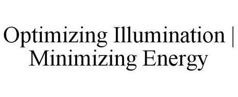 OPTIMIZING ILLUMINATION   MINIMIZING ENERGY