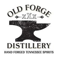 OLD FORGE XXX DISTILLERY HAND FORGED TENNESSEE SPIRITS