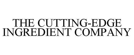 THE CUTTING-EDGE INGREDIENT COMPANY