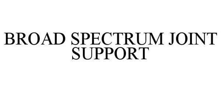 BROAD SPECTRUM JOINT SUPPORT