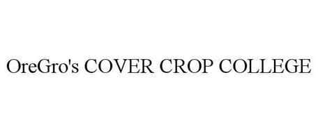 OREGRO'S COVER CROP COLLEGE