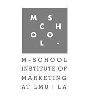M S C H O O L M-SCHOOL INSTITUTE OF MARKETING AT LMU LA