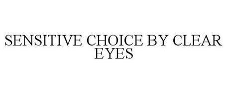 SENSITIVE CHOICE BY CLEAR EYES