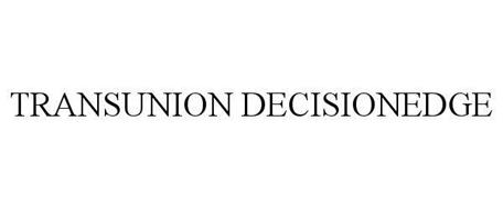 TRANSUNION DECISIONEDGE