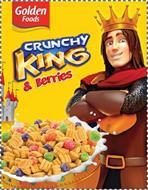 GOLDEN FOODS CRUNCHY KING & BERRIES