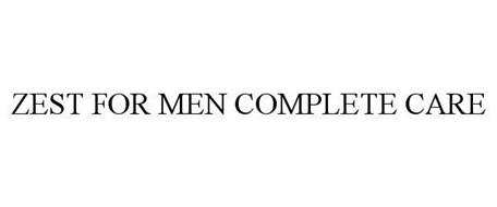 ZEST FOR MEN COMPLETE CARE