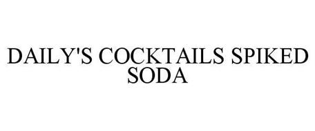 DAILY'S COCKTAILS SPIKED SODA