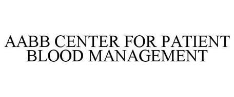 AABB CENTER FOR PATIENT BLOOD MANAGEMENT