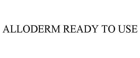 ALLODERM READY TO USE