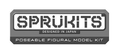 SPRÜKITS DESIGNED IN JAPAN POSEABLE FIGURAL MODEL KITS