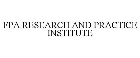 FPA RESEARCH AND PRACTICE INSTITUTE