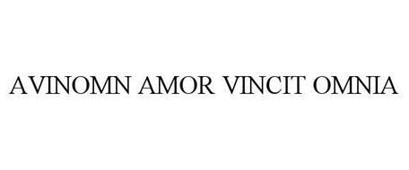 AVINOMN AMOR VINCIT OMNIA