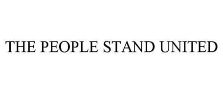 THE PEOPLE STAND UNITED