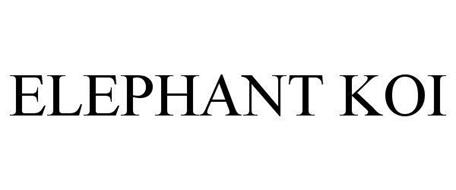 ELEPHANT KOI