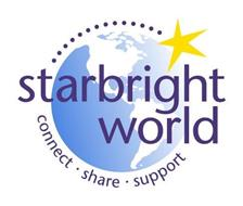 STARBRIGHT WORLD CONNECT · SHARE · SUPPORT