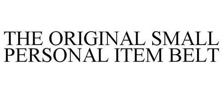 THE ORIGINAL SMALL PERSONAL ITEM BELT