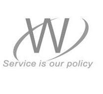 W SERVICE IS OUR POLICY