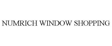 NUMRICH WINDOW SHOPPING